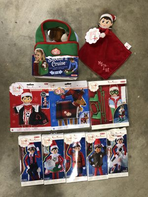 The elf on the shelf clothes and accessories - $5 Each for Sale in Rancho Cucamonga, CA