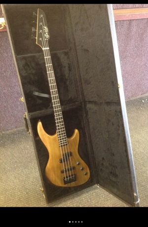 Guild pilot bass guitar emgs & hard case 1990's made in USA for Sale in Columbus, OH