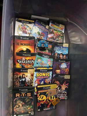 Gamecube games Nintendo lot for Sale in Los Alamitos, CA
