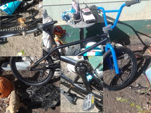 One complete BMX& Two unfinished bmx bikes one a dyno the other a diamondback joker for Sale in Denver, CO