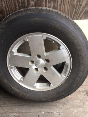Bridgestone tires jeep 4 door 07-2018 4 tires&wheels for Sale in PA, US