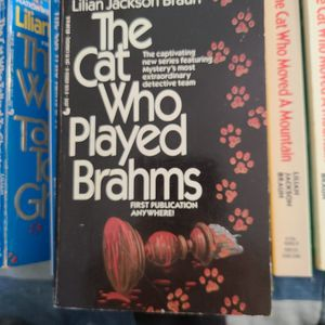 The Cat Who Played Brahms Lillian Jackson Braun, Paperback for Sale in Kent, WA