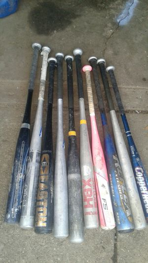 BASEBALL BATS for Sale in Cleveland, OH