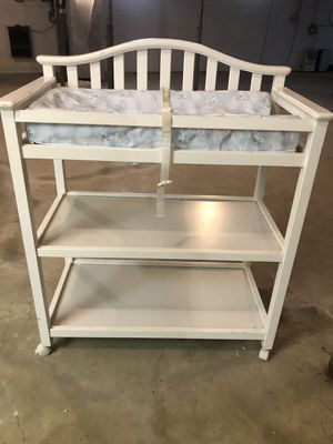 Baby changing table and crib for Sale in Marengo, OH