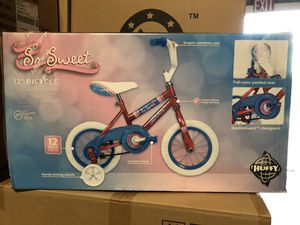 New Huffy SO SWEET 12 inch Bike with Training Wheels for Kids for Sale in San Dimas, CA