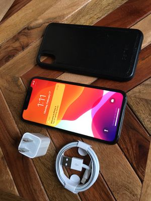 iPhone X 256gb!! LIKE NEW! Unlocked for Sale in Chicago Ridge, IL