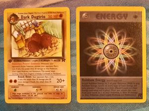 Dark Dugtrio & Rainbow Energy 1st Edition for Sale in Kent, WA