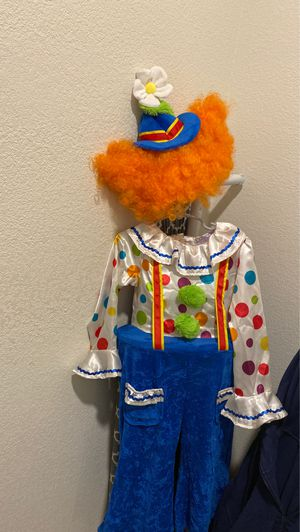 4t clown costume for Sale in Fort Worth, TX