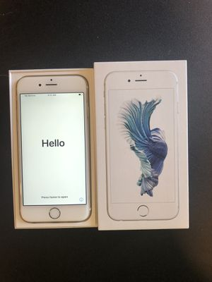 Iphone 6s Unlocked 16 gb for Sale in Leander, TX