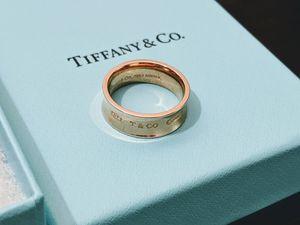 Tiffany & Co. Rubedo 1837 Medium Ring Size 6 1/2 NEW for Sale in Vienna, VA