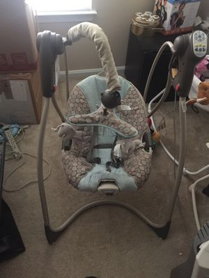 Baby swing for sale $20 for Sale in Fairfax, VA