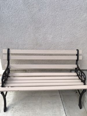 Patio antique bench for Sale in Anaheim, CA