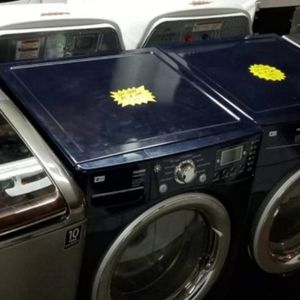 ⭐☀Huge Sale store full of nice reconditioned refrigerator washer dryer stove stackable+financing available free warranty for Sale in Des Moines, WA