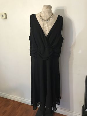 Black dress size 18w for Sale in Ontario, CA