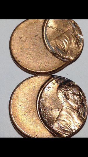 Valuable Two (2) MASSIVE Off Center Error Coin- Struck Way Off Center Planchet- Original Mint Made Error for Sale in Herndon, VA