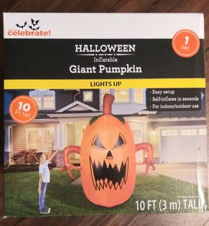 🎃Want a Halloween Inflatable 10ft tall Pumpkin for your Yard?🎃 for Sale in Escondido, CA