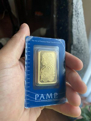 1oz gold bar Pamp Suisse x3 for Sale in Los Angeles, CA