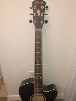 Ibanez Acoustic Guitar, Model AEG for Sale in Lehigh Acres,  FL