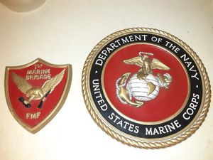 U.S. Marine Corps plaques Ceramic for Sale in Portland, OR