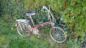 70s Raleigh folding bike for Sale in Woodinville, WA