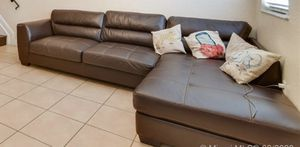 Sectional couch for Sale in Hialeah, FL