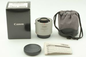 Canon 2X III extender for Ef lens - mint condition for Sale in Dunwoody, GA