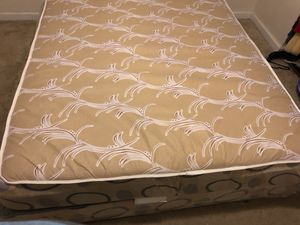 Queen size mattress and box spring for Sale in Millersville, MD