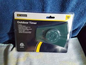Outdoor Timer 2 Outlet NEW for Sale in Stockbridge, GA