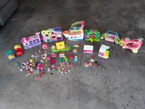 Lps,shopkins and hatchimals $45 for Sale in Lehigh Acres, FL