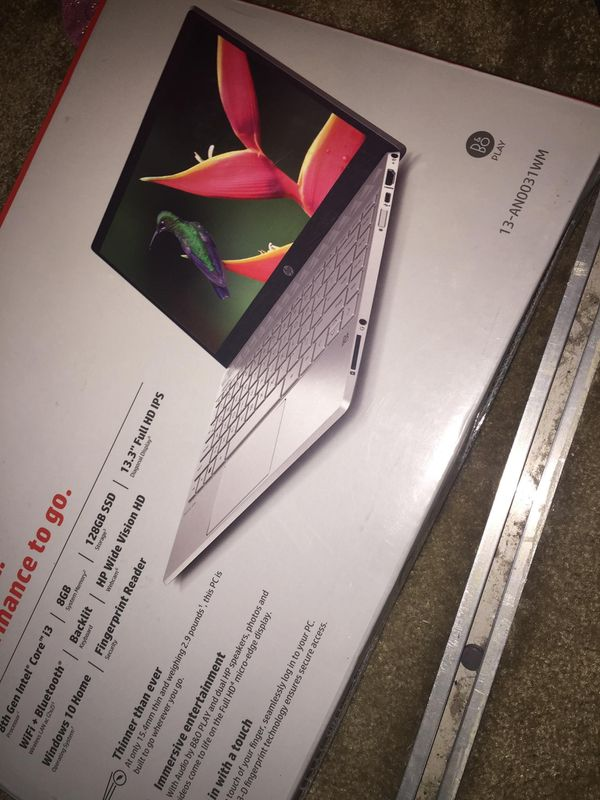 Fingerprint Laptop