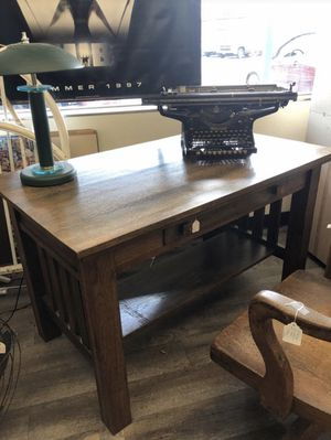Mission Style Library Desk Antique for Sale in Byrnes Mill, MO