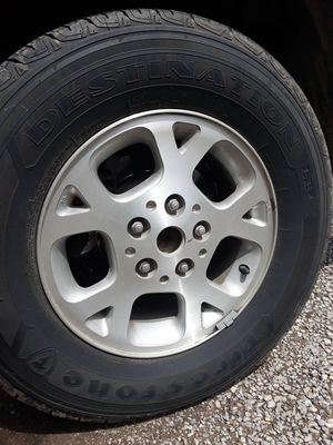 """16""""rims from grand Cherokee geep 5 lugs for Sale in Wichita, KS"""