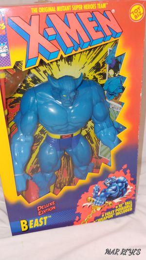 "X-MEN ""BEAST"" 10 Inch figure by Toy Biz for Sale in Queens, NY"