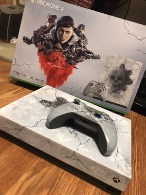 Xbox One X 1TB Gears 5 Limited Edition for Sale in Richmond, VA