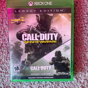 xbox one call of duty infinite warfare (legacy edition) for Sale in Marksville, LA