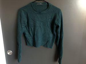 Brandy Melville Green Crop Sweater for Sale in Seattle, WA
