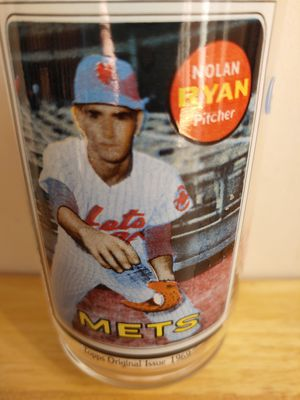 Nolan Ryan Glass Baseball Mets NBL Signed Tools 1969 Photo Sport Advertise McDonald's Pitcher Souvenoir1993 Collectable for Sale in Lake Shore, MD