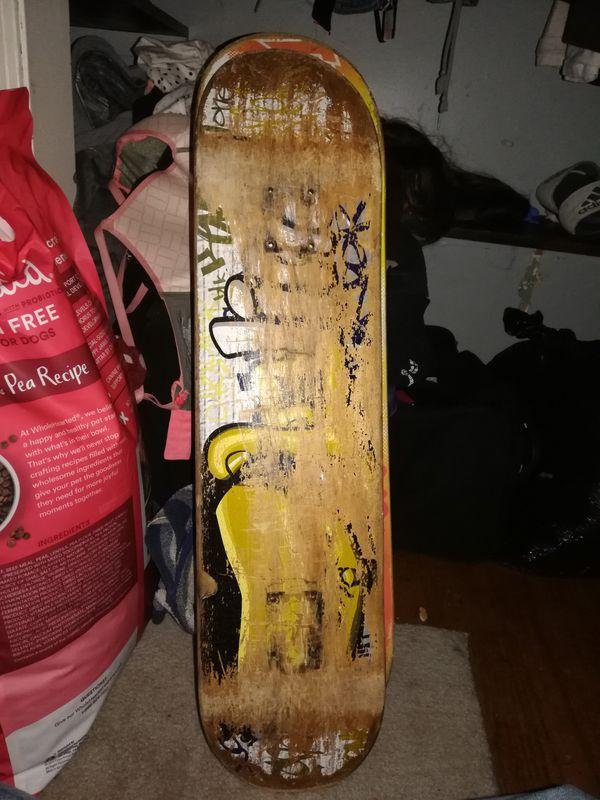 Pro skateboard decks