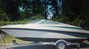 1997 Crownline Bowrider with Trailer for Sale in Tacoma, WA