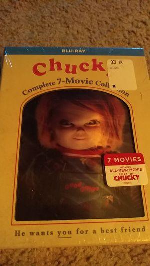 Chucky Blu Ray 7 DVD Boxset for Sale in Rock Island, IL