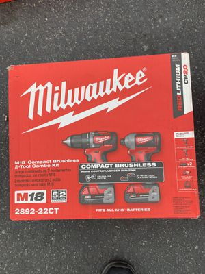 Miwalkee power tool set for Sale in Colton, CA
