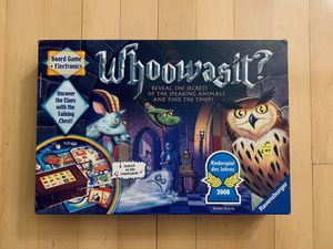 Whoowasit? Kids & Family Bard Game for Sale in New York, NY