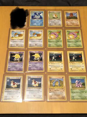 Base Set 1st Edition Shadowless Pokemon Cards for Sale in Renton, WA
