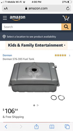 Fuel tank dorman 576-393 (Chevrolet 1996-87, GMC 1996-87) for Sale in Las Vegas, NV