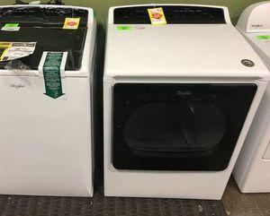 Whirlpool Cabrio Washer/Dryer Set PK B1 for Sale in Dallas, TX