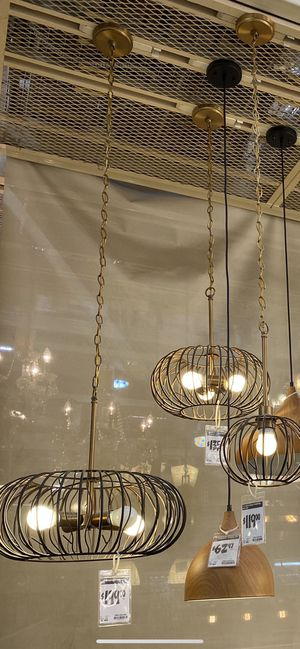 Light Fixtures x2 : PRICE IS NEGOTIABLE for Sale in Arlington, VA