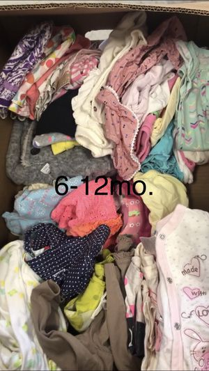 6-12 & 12-18month baby girl clothes for Sale in Orem, UT