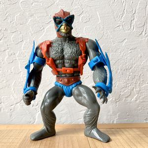 Vintage Heman and the Masters of the Universe Stratos Complete Action Figure With Arm Wings & Jet Pack, 1981 Malaysia MOTU Toy for Sale in Elizabethtown, PA