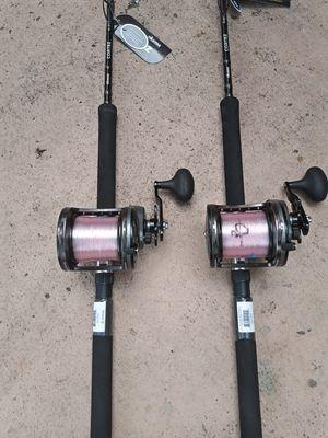 New okuma Cortez fishing combos....220 each for Sale in Pembroke Pines, FL