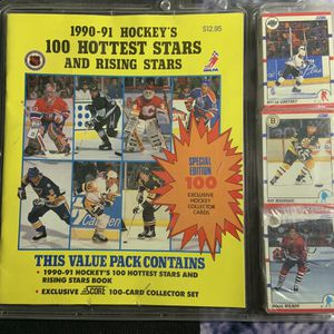 1990-91 Score Hockey's Hottest Stars And Rising Stars Brand New for Sale in La Mesa, CA